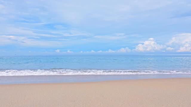 波の砂のビーチ - プーケット県点の映像素材/bロール
