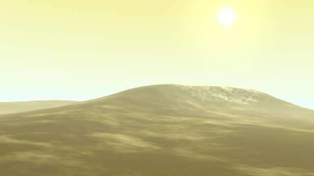 Dune di sabbia soffia in 3D