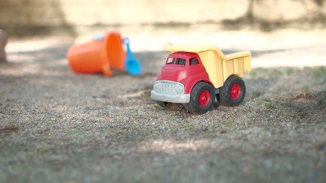 sand box toys - sand pit stock videos and b-roll footage