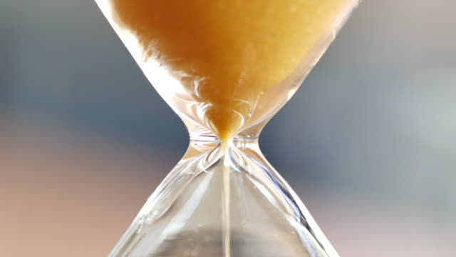 4k sand clock, business time management concept - deadline stock videos & royalty-free footage