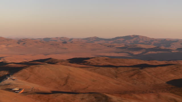 sand dune at sunset in Atacama Desert