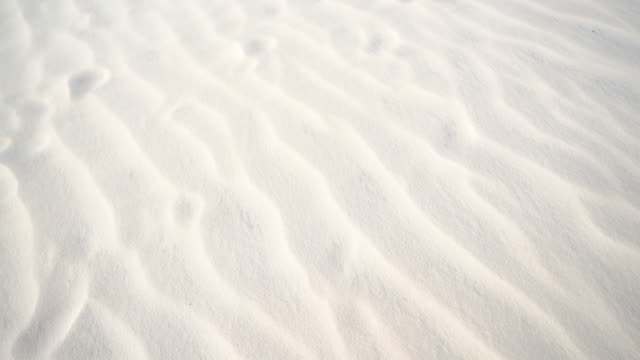 sand dune pattern on a windy day - sand dune stock videos & royalty-free footage