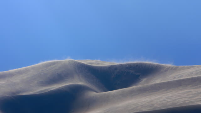 sand dunes abstract in high winds - abstract stock videos & royalty-free footage