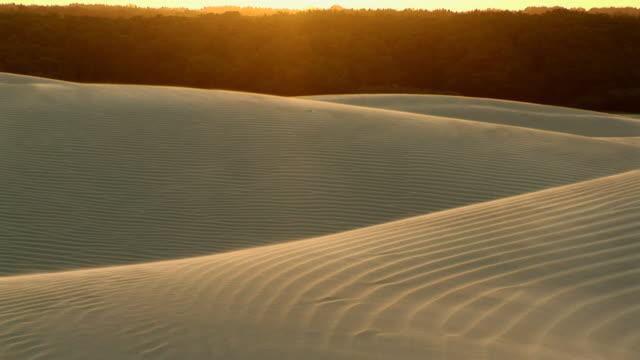 WS PAN Sand dunes affected by the wind / Ilha dos Lencois, Maranhao, Brazil