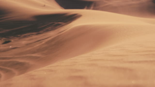 sand dunes in the desert - sand stock videos & royalty-free footage