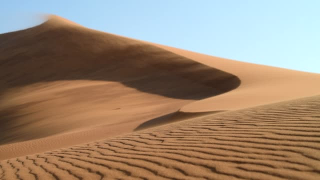 sand dunes - sand dune stock videos & royalty-free footage