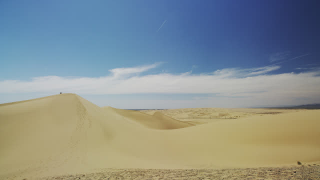 sand dunes - 固定撮影点の映像素材/bロール