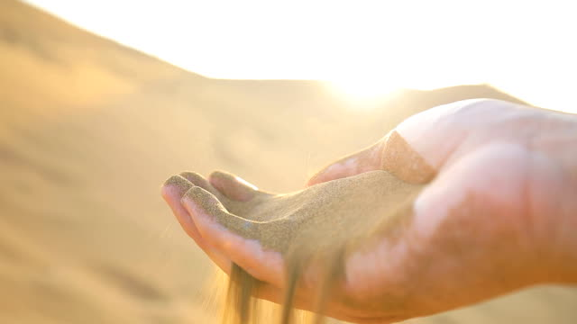 sand flowing from hand - finger stock videos & royalty-free footage