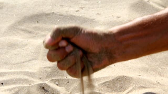 Sand in the hand (HD)