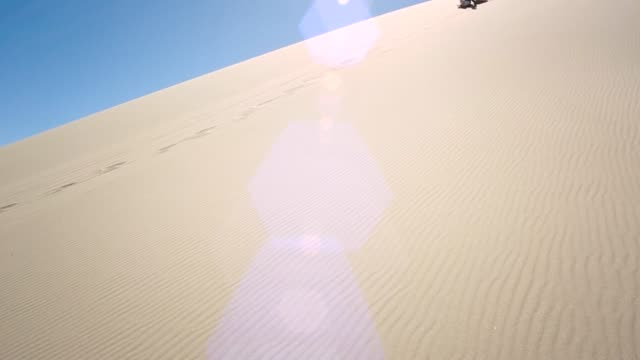 sand sledding - sand dune stock videos & royalty-free footage