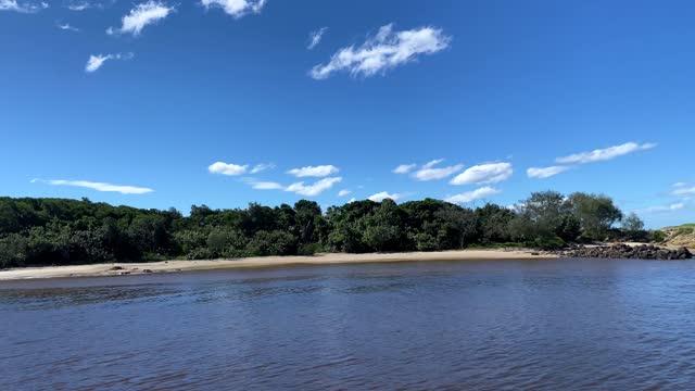 sand går genom träd till strandsidan lake - water's edge bildbanksvideor och videomaterial från bakom kulisserna