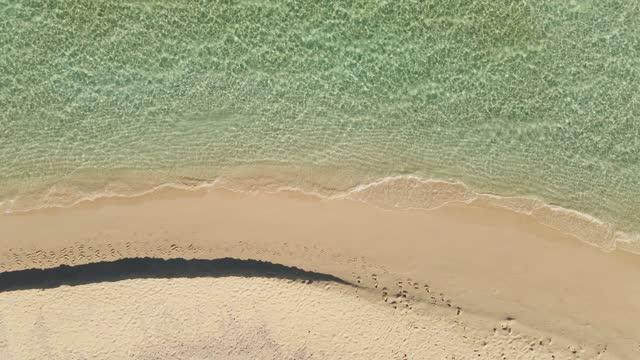 vidéos et rushes de sandbank - maldives - sable