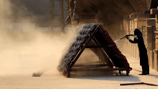 sandblasting - dry dock stock videos & royalty-free footage
