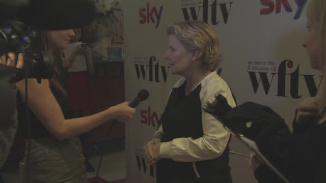 sandi toksvig at sky women in film and tv awards at london hilton on december 4 2015 in london england - sandi toksvig stock videos & royalty-free footage