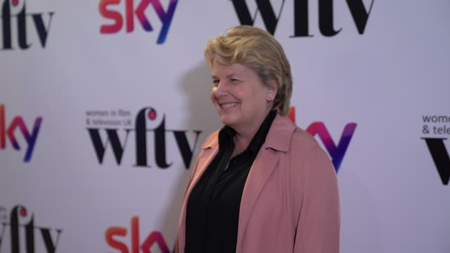 sandi toksvig at the women in film and television awards on december 7 2018 in london england - sandi toksvig stock videos & royalty-free footage