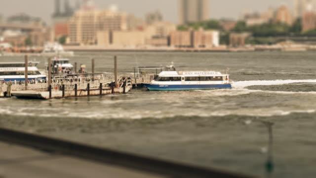 sandpit - boats and highway - tilt shift stock videos & royalty-free footage