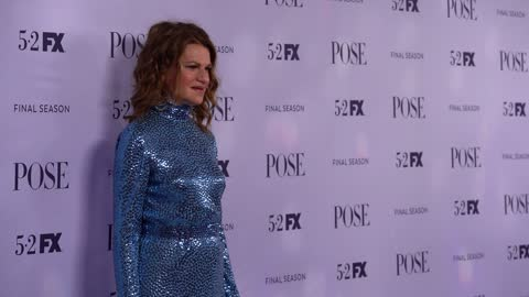 """sandra bernhard at fx's """"pose"""" season 3 new york premiere at jazz at lincoln center on april 29, 2021 in new york city. - premiere stock videos & royalty-free footage"""
