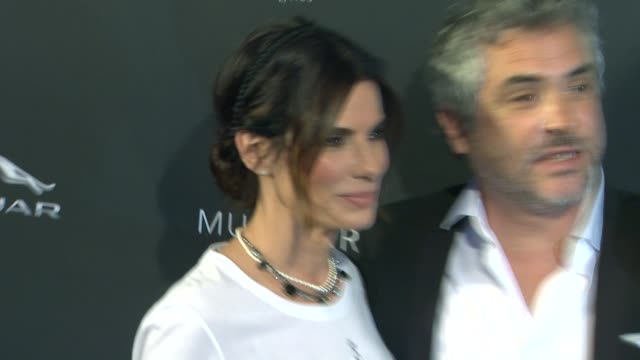 Sandra Bullock Alfonso Cuaron at BAFTA LA 2014 Awards Season Tea Party at Four Seasons Hotel Los Angeles at Beverly Hills on in Beverly Hills...
