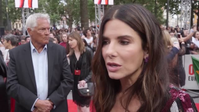 Sandra Bullock and Helena BonhamCarter are among the stars of Ocean's 8 on the red carpet in Leicester Square as the film hold its London premiere