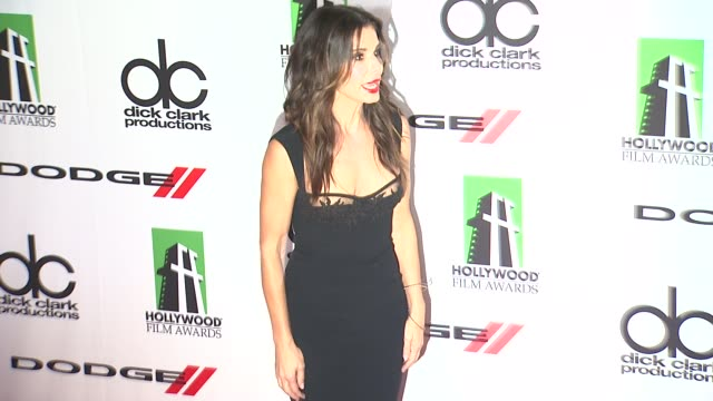 sandra bullock at 17th annual hollywood film awards gala on october 21 2013 in beverly hills california - sandra bullock stock videos & royalty-free footage