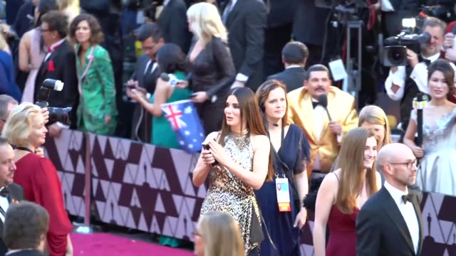 sandra bullock at dolby theatre on march 04 2018 in hollywood california - sandra bullock stock videos & royalty-free footage