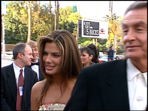 sandra bullock at the blockbuster awards at hollywood pantages theater in hollywood california on march 11 1997 - sandra bullock stock videos & royalty-free footage