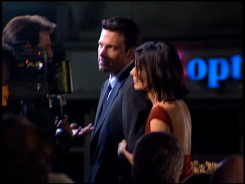 sandra bullock at the 'forces of nature' premiere at the mann village theatre in westwood california on march 12 1999 - sandra bullock stock videos & royalty-free footage