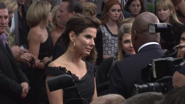 sandra bullock at the new york premiere of 'the blind side' at new york ny - sandra bullock stock videos & royalty-free footage