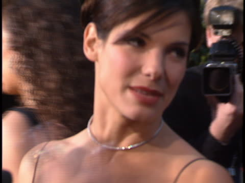 sandra bullock at the peoples choice awards 96 at universal studios. - 1996 stock videos & royalty-free footage
