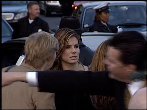 sandra bullock at the premiere of 'the matrix reloaded' on may 7 2003 - sandra bullock stock videos & royalty-free footage