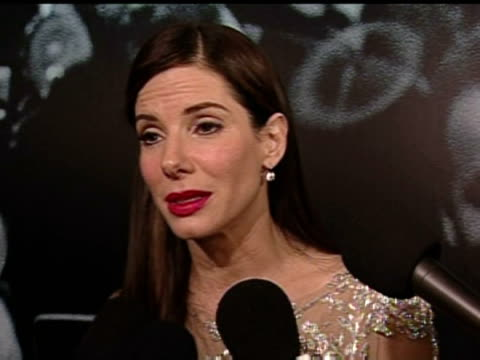sandra bullock on winning best actress oscar at 82nd annual academy awards los angeles 7 march 2010 - hollywood california stock videos & royalty-free footage
