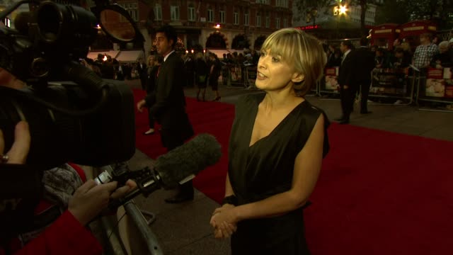 Sandra Hebron at the Never Let Me Go Premiere 54th BFI London Film Festival at London England