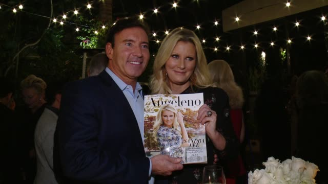 sandra lee andrew cuomo at angeleno magazine celebrates its philanthropy issue with sandra lee and bbva compass at culina at the four seasons hotel... - andrew cuomo stock videos and b-roll footage