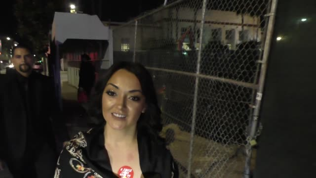 INTERVIEW Sandra Pena talks about supporting Mexico during its time of need outside TAO Restaurant in Hollywood in Celebrity Sightings in Los Angeles