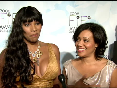 Sandra 'Pepa' Denton and Cheryl 'Salt' James on how importance frangrance is and their favorite fragrances at the Fragrance Foundation Presents 36th...