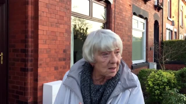 Sandra Wilkinson is a neighbour who heard screams after an arson attack killed three members of same family on Jackson Street in Walkden Greater...