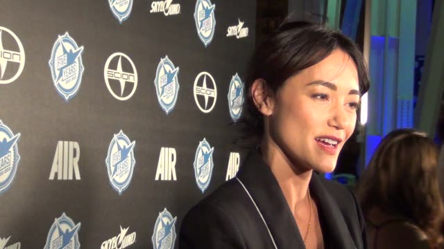Sandrine Holt at ComicCon Celebrity Sightings on July 10 2015 in San Diego California