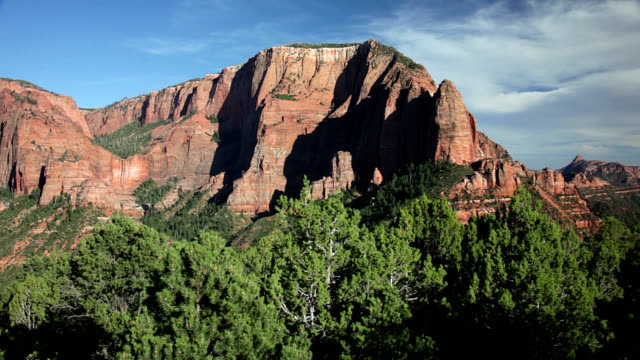 sandstone formations in kolob canyons - navajo culture stock videos & royalty-free footage