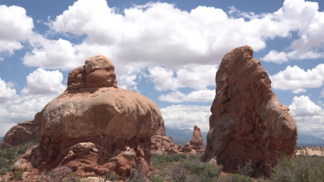 sandstone rock formation timelapse - sandstone stock videos & royalty-free footage