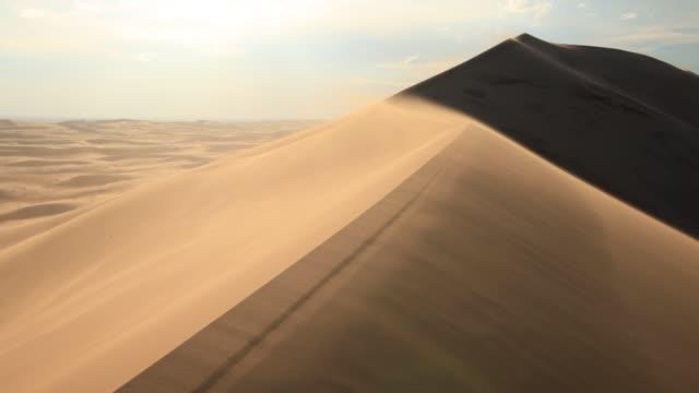 sandstorm in the gobi desert - sandstorm stock videos & royalty-free footage