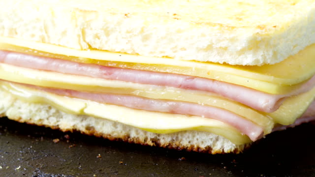 sandwich melt time lapse - cheese stock videos & royalty-free footage