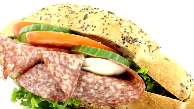 sandwich - sandwich stock videos & royalty-free footage