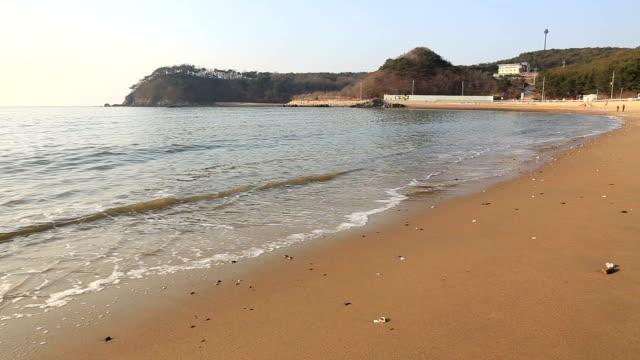 Sandy beach at Janggyeongni Beach