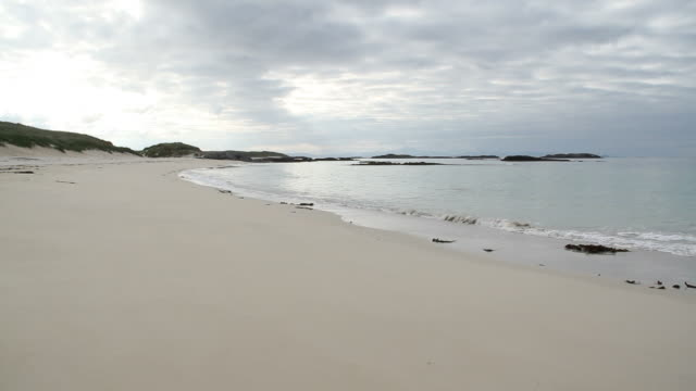 Sandy Beach in the Hebrides