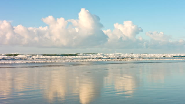 砂浜のビーチ