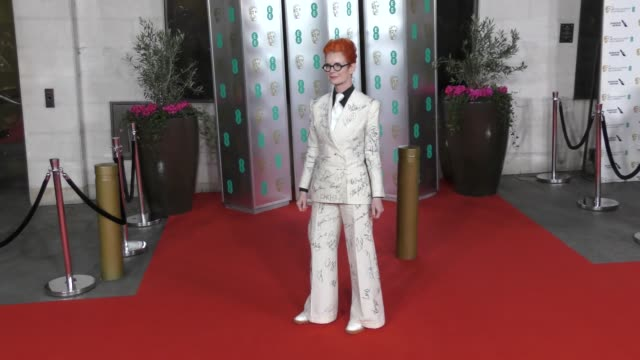 sandy powell attends the ee british academy film awards 2020 after party at the grosvenor house hotel on february 02 2020 in london england - british academy film awards stock videos & royalty-free footage