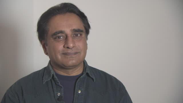 sanjeev bhaskar on ambassadors like zayn malik being involved at british asian trust awards - ambassador interviews at claridges hotel on february 1,... - サンジーヴ・バスカー点の映像素材/bロール
