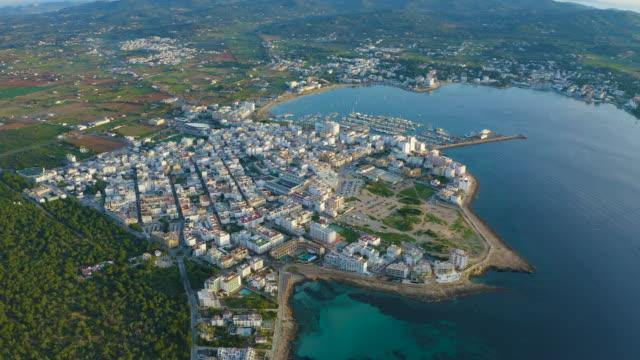 サン・アントニ・デ・ポルトマニ - イビサ島。4k - イビサ島点の映像素材/bロール