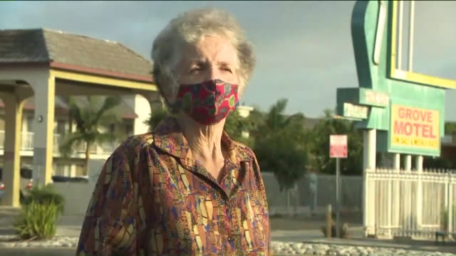 ktla santa ana ca us woman in face mask talking to media about protecting kids from pedophilia and sexual crimes on tuesday july 21 2020 convicted... - obscured face stock videos & royalty-free footage