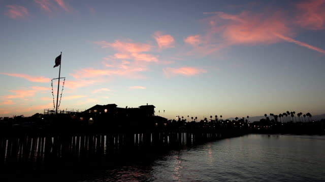 Santa Barbara Pier - HD Video